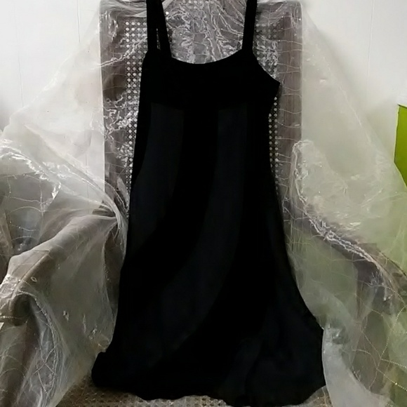 Emporio Armani Dresses & Skirts - Emporio Armani black velvet & silk evening dress 6